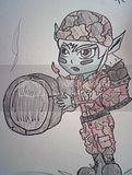 my friends disired skin for tristana